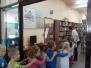 Żyrafki w bibliotece